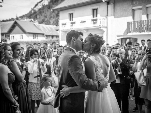 Le mariage de Hugues et Aurore à Présilly, Haute-Savoie 45