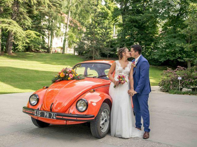 Le mariage de Hugues et Aurore à Présilly, Haute-Savoie 50