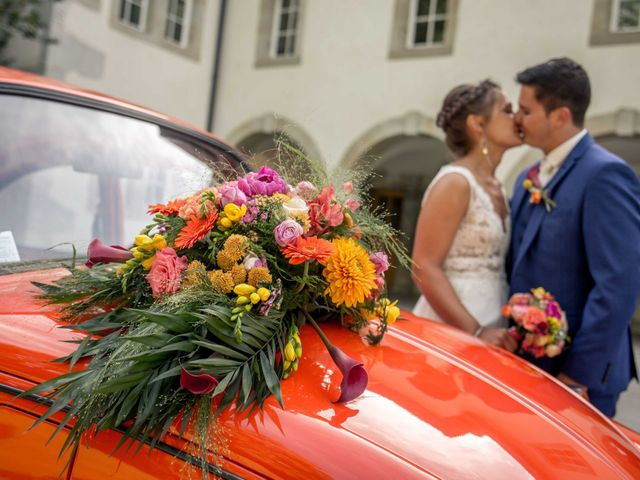 Le mariage de Hugues et Aurore à Présilly, Haute-Savoie 51