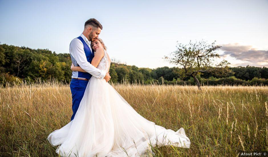 Le mariage de Jason et Justine à Montbazon, Indre-et-Loire