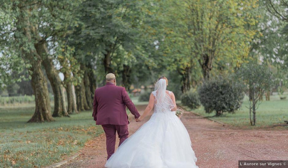 Le mariage de Claude et Sara à Virsac, Gironde