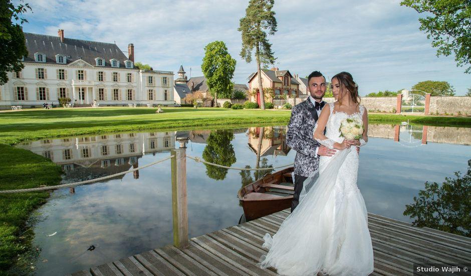 Le mariage de Martin et Nassima à Paray-Douaville, Yvelines