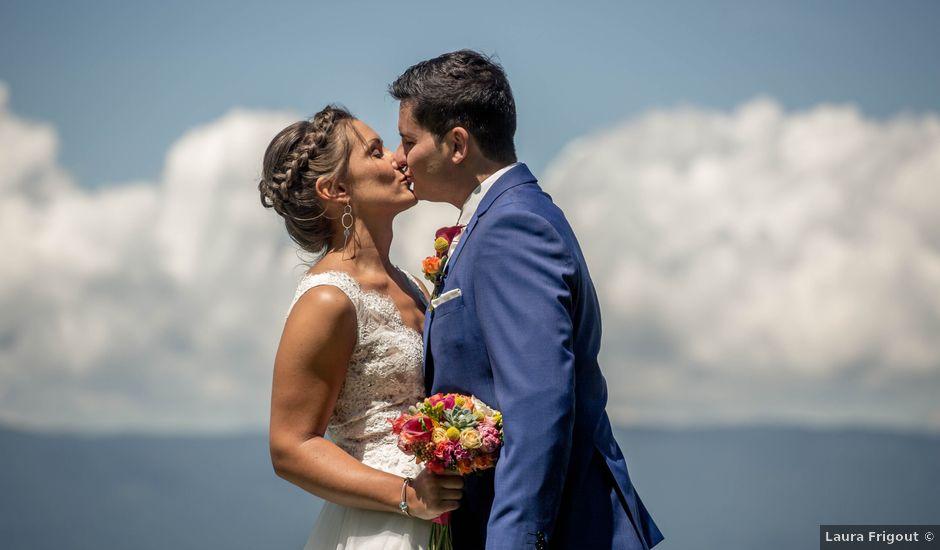 Le mariage de Hugues et Aurore à Présilly, Haute-Savoie