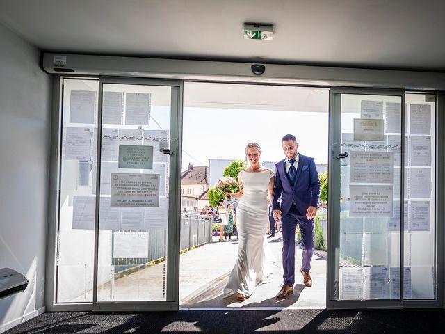 Le mariage de Jérôme et Jordanna à Wittenheim, Haut Rhin 10