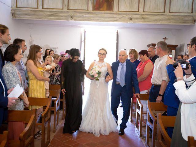 Le mariage de Adrien et Valentina à Bonifacio, Corse 17