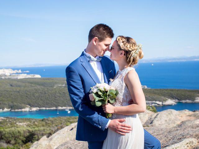 Le mariage de Adrien et Valentina à Bonifacio, Corse 40