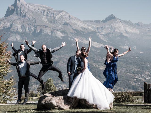Le mariage de Nicolas et Marine à Cordon, Haute-Savoie 18