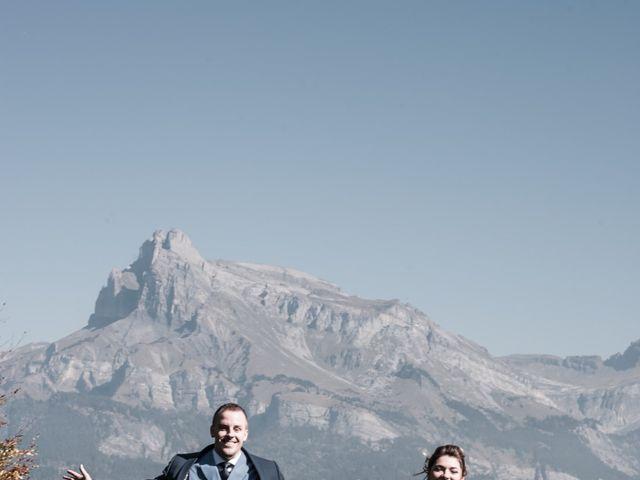 Le mariage de Nicolas et Marine à Cordon, Haute-Savoie 19