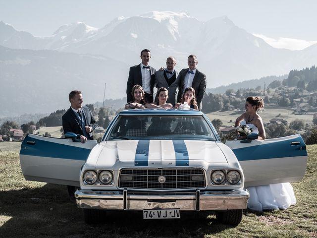 Le mariage de Nicolas et Marine à Cordon, Haute-Savoie 20