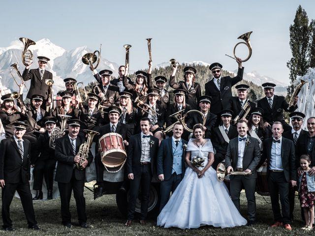 Le mariage de Nicolas et Marine à Cordon, Haute-Savoie 54
