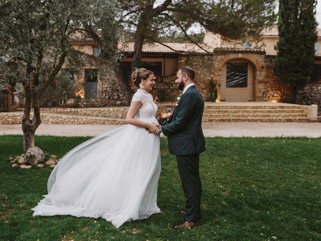 Le mariage de Alexandre et Magali à Rochefort-du-Gard, Gard 119