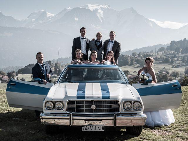 Le mariage de Nicolas et Marine à Cordon, Haute-Savoie 25