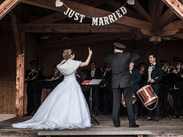 Le mariage de Nicolas et Marine à Cordon, Haute-Savoie 60