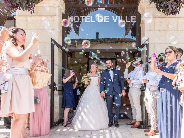 Le mariage de Thomas et Anaïs à Miramont-de-Guyenne, Lot-et-Garonne 33