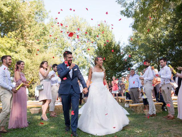 Le mariage de Thomas et Anaïs à Miramont-de-Guyenne, Lot-et-Garonne 75