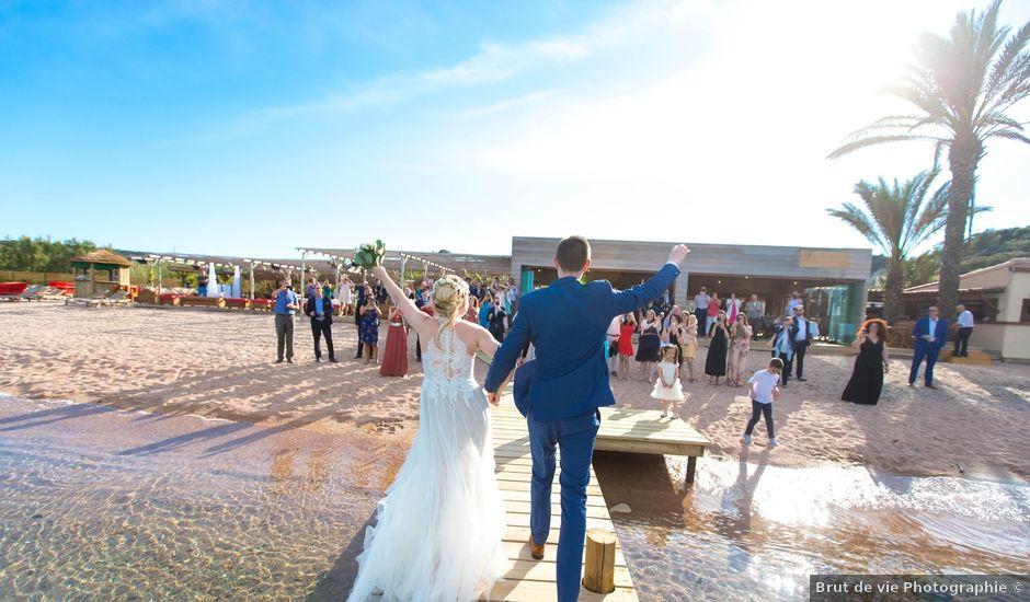 Le mariage de Adrien et Valentina à Bonifacio, Corse