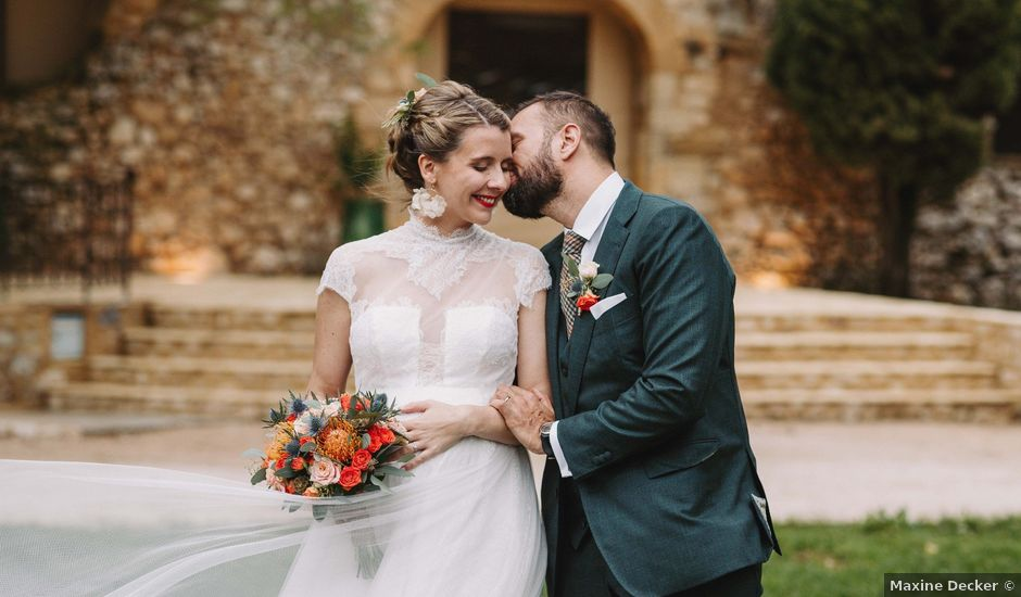 Le mariage de Alexandre et Magali à Rochefort-du-Gard, Gard