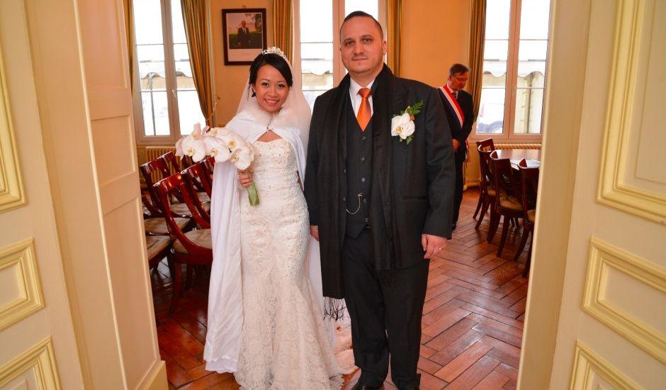 Le mariage de Ludo et Mai Anh à Cernay-la-Ville, Yvelines