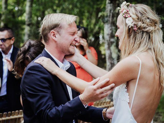Le mariage de Stefan et Amandine à Saint-Julien-en-Born, Landes 20