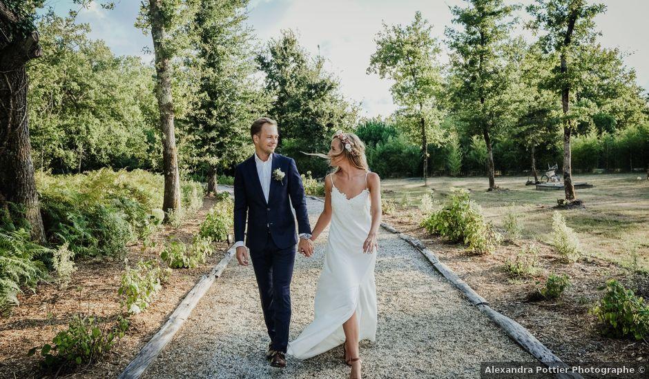 Le mariage de Stefan et Amandine à Saint-Julien-en-Born, Landes