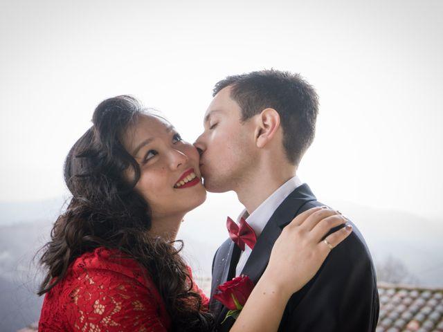 Le mariage de Xin et Mathieu