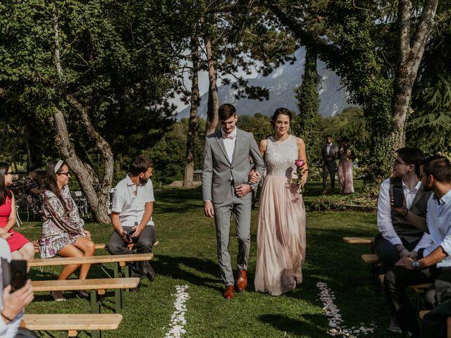 Le mariage de Corentin et Jennifer à Saint-Sixt, Haute-Savoie 48
