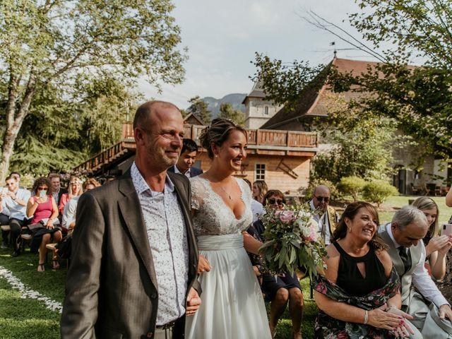 Le mariage de Corentin et Jennifer à Saint-Sixt, Haute-Savoie 50