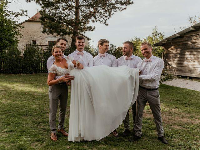 Le mariage de Corentin et Jennifer à Saint-Sixt, Haute-Savoie 65