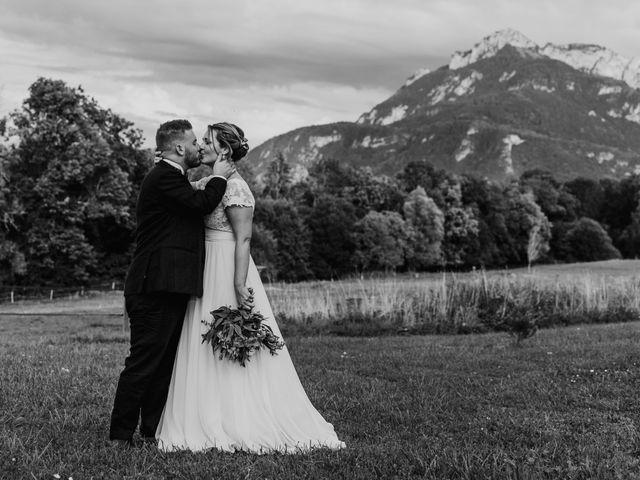 Le mariage de Corentin et Jennifer à Saint-Sixt, Haute-Savoie 73