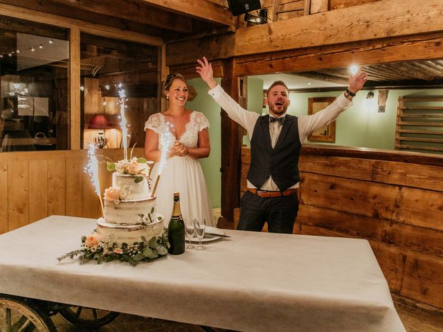 Le mariage de Corentin et Jennifer à Saint-Sixt, Haute-Savoie 80