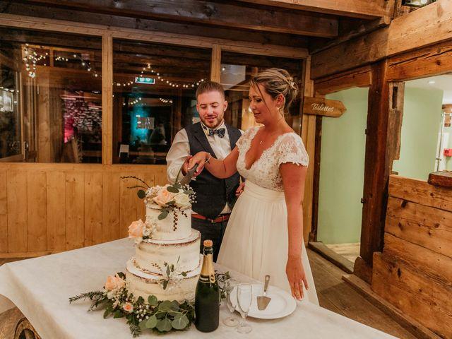 Le mariage de Corentin et Jennifer à Saint-Sixt, Haute-Savoie 83