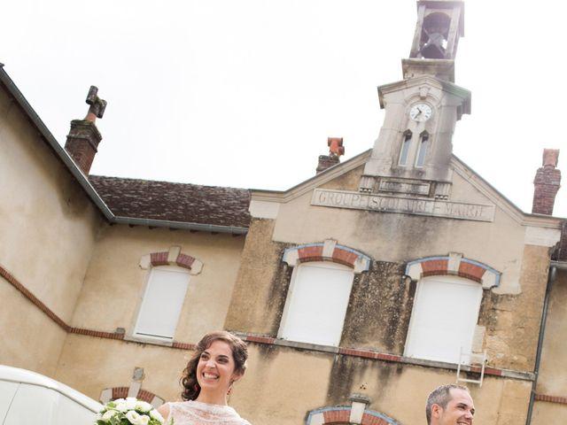 Le mariage de Romaric et Cécile à Chapelle-Voland, Jura 9