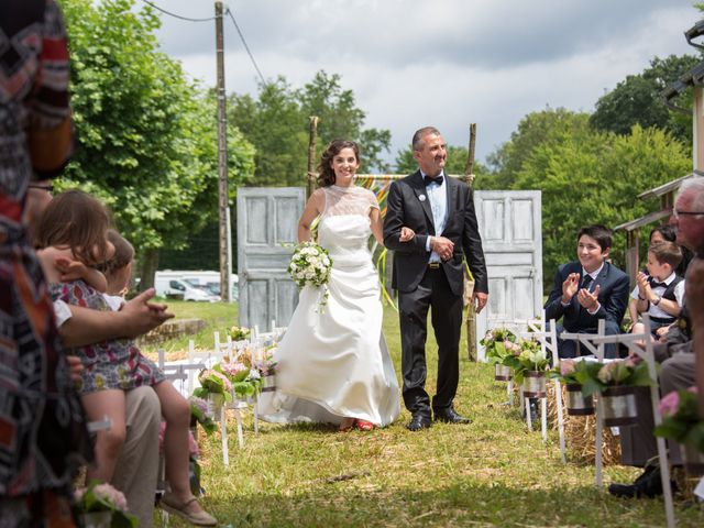 Le mariage de Romaric et Cécile à Chapelle-Voland, Jura 18