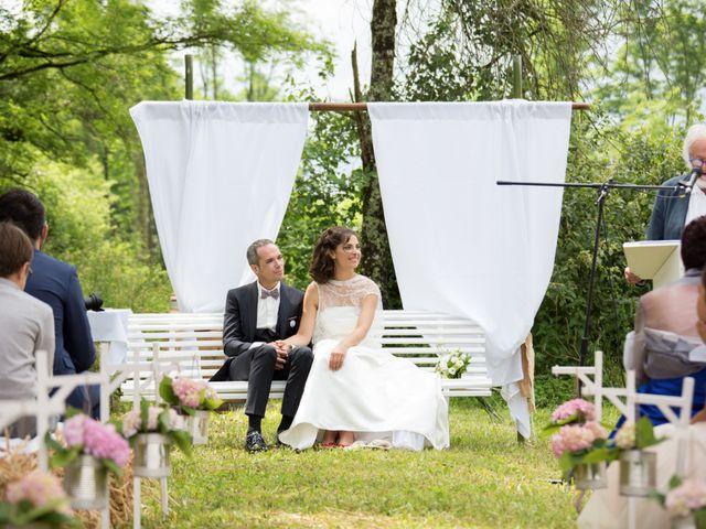 Le mariage de Romaric et Cécile à Chapelle-Voland, Jura 19