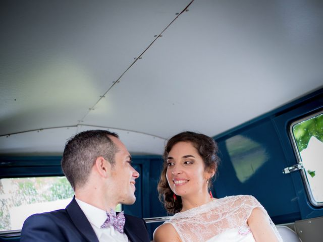 Le mariage de Romaric et Cécile à Chapelle-Voland, Jura 22