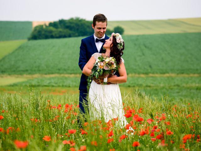 Le mariage de Ghislain et Amandine à Imbsheim, Bas Rhin 3
