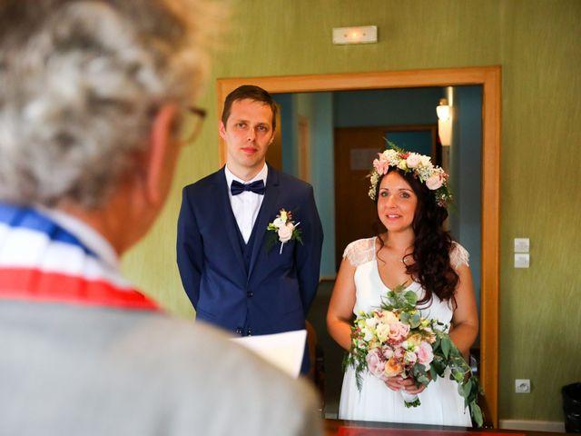 Le mariage de Ghislain et Amandine à Imbsheim, Bas Rhin 9