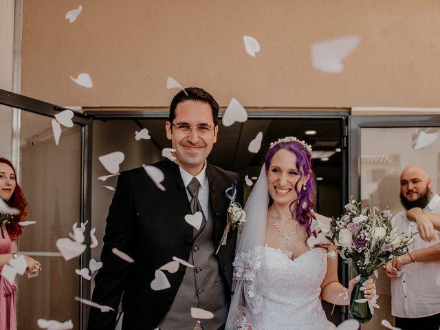 Le mariage de Damien et Beverly à Rousson, Gard 12