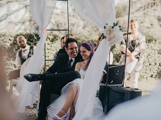 Le mariage de Damien et Beverly à Rousson, Gard 21