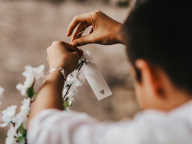 Le mariage de Damien et Beverly à Rousson, Gard 26