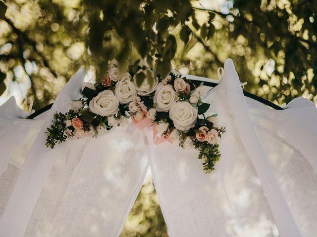 Le mariage de Damien et Beverly à Rousson, Gard 30
