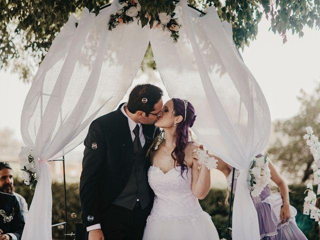 Le mariage de Damien et Beverly à Rousson, Gard 33