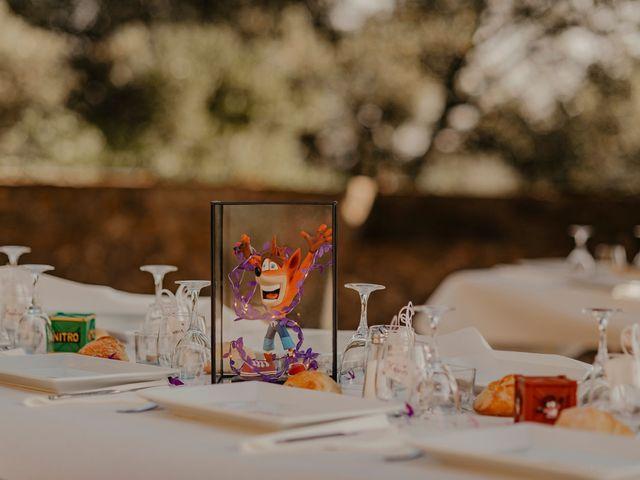 Le mariage de Damien et Beverly à Rousson, Gard 43