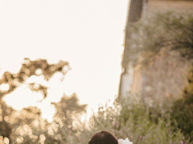 Le mariage de Damien et Beverly à Rousson, Gard 62