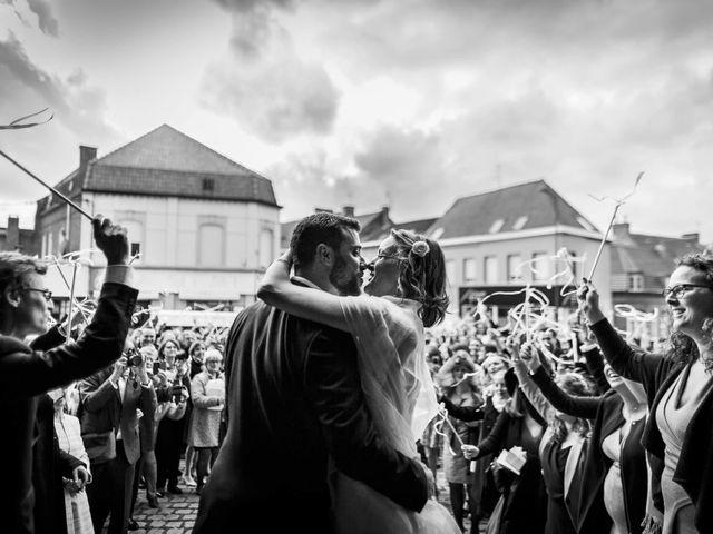 Le mariage de Clément et Jeanne à Morbecque, Nord 5