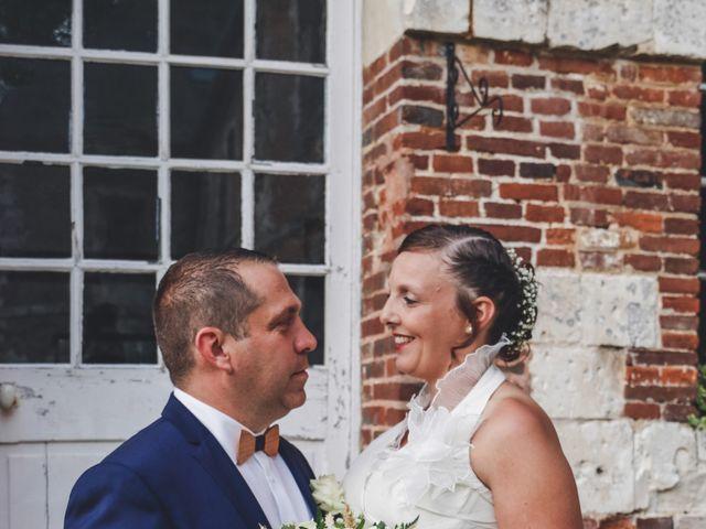 Le mariage de Vincent et Adeline à Belleuse, Somme 10