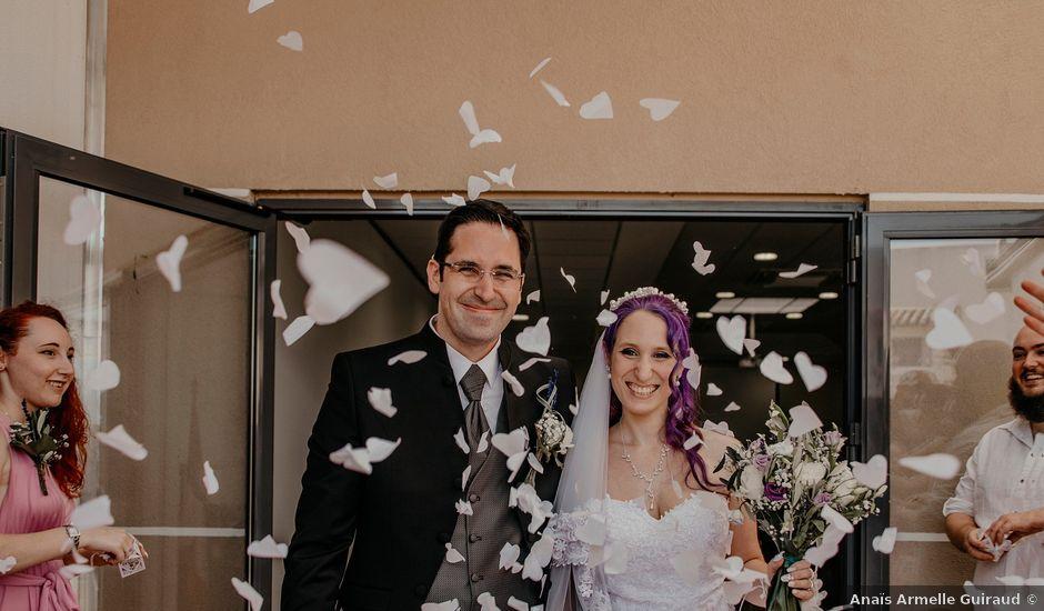 Le mariage de Damien et Beverly à Rousson, Gard