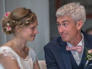 Le mariage de Clotilde et Xavier 1