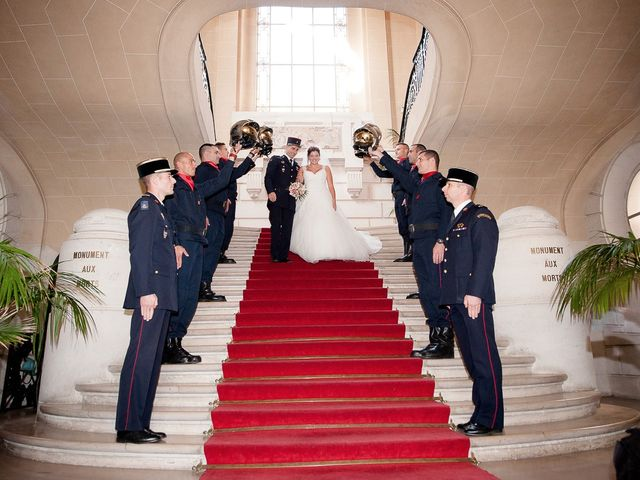 Le mariage de Guillaume et Stéphanie à Paris, Paris 17