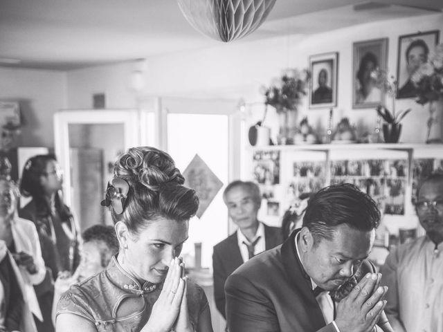 Le mariage de Pang Thai et Elodie à Pacé, Ille et Vilaine 9